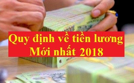tiền lương năm 2018