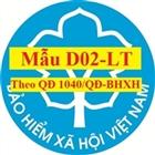 Mẫu D02-LT theo QĐ số 1040/QĐ-BHXH - Danh sách lao động tham gia bảo hiểm