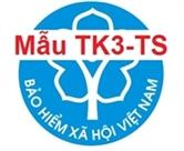 Mẫu TK3-TS - Tờ khai cung cấp và thay đổi thông tin đơn vị tham gia BHXH, BHYT